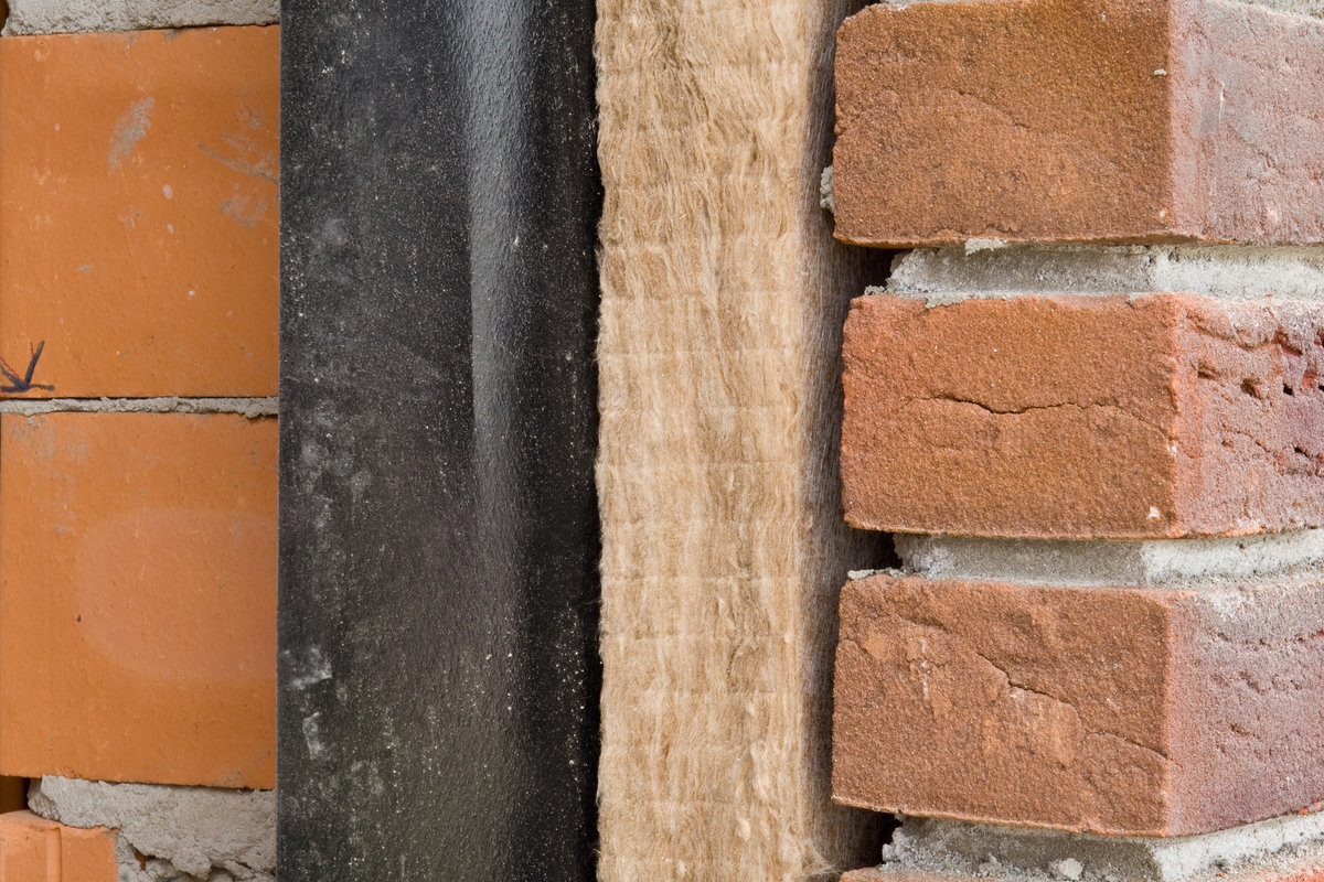 insulation types: mineral wool in cavity wall