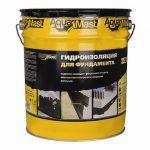Аквамаст мастика – АкваМаст – материалы на битумной основе для проведения гидроизоляционных работ внутри и снаружи помещений.