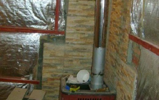 Утепление стен бани из пеноблоков изнутри