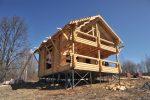 Как построить дом своими руками на сваях видео – Фундамент на винтовых сваях своими руками: пошаговая инструкция