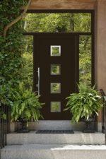 Утепленные пластиковые двери входные – уличные модели в частный загородный дом, стеклянные элементы в вариантах из ПВХ, вторая дверь, отзывы