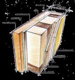 Конденсат в каркасном доме – Правильная пароизоляция-залог избежать капели с потолка и стен в каркасно-щитовом доме – СамСтрой