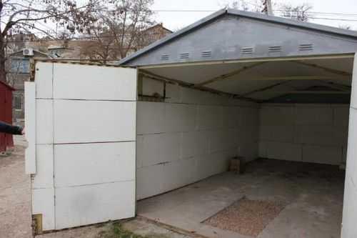 Гараж металлический утепление снаружи залить пол в гараже заказать