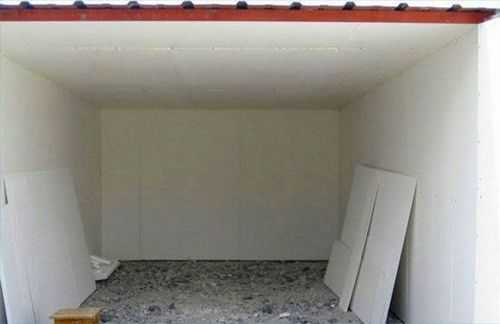 Железный гараж теплоизоляция гаражи в коломне купить на авито