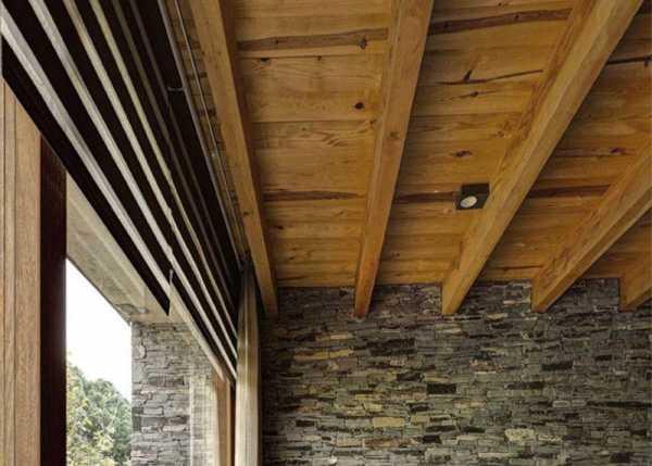 Потолки из натуральных материалов